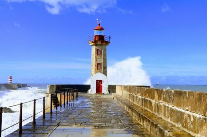 Britain's  lighthouse standing there since 17th century